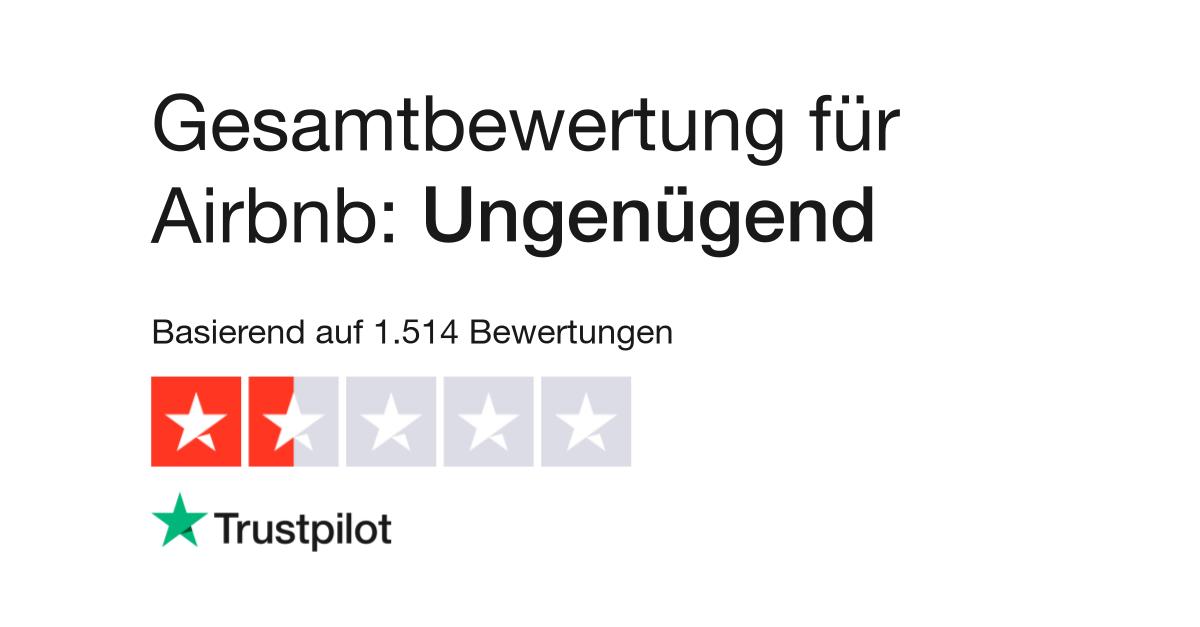 Bewertungen von Airbnb   Kundenbewertungen von www.airbnb.de lesen