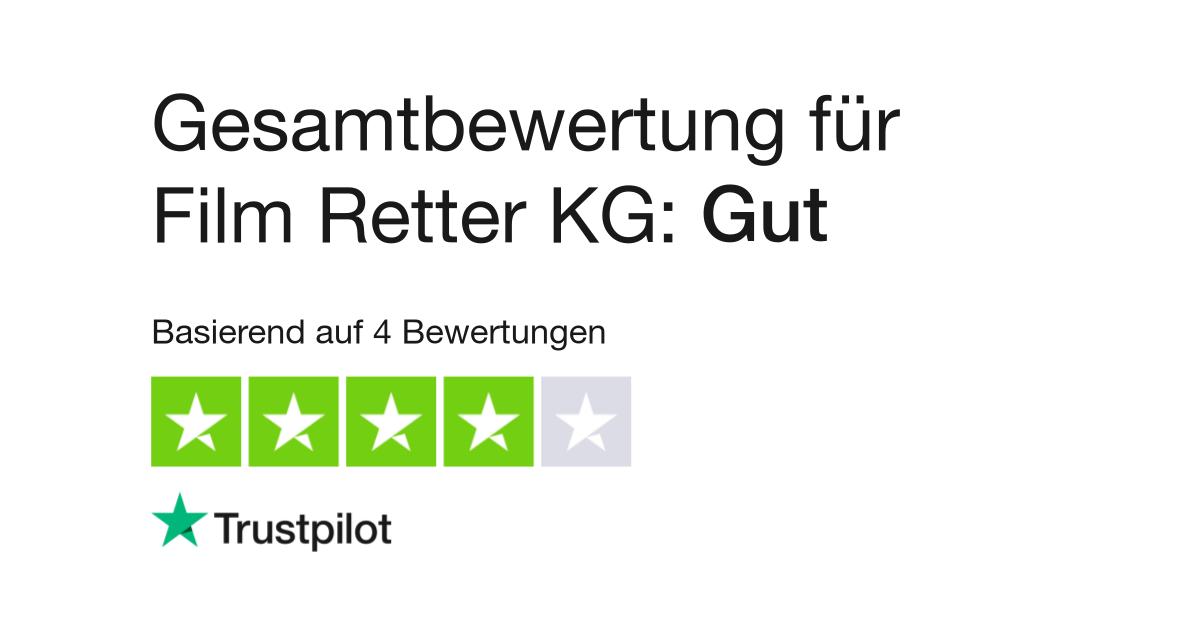 Bewertungen von Film Retter | Kundenbewertungen von www.film-retter ...
