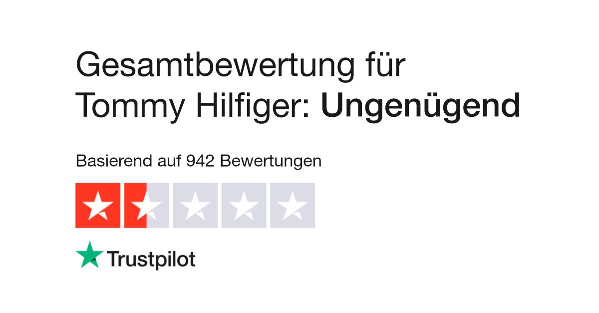 langlebig im einsatz 2019 heißer verkauf Auf Abstand Bewertungen zu Tommy Hilfiger | Lesen Sie Kundenbewertungen ...