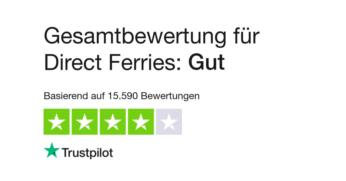 Bewertungen Von Direct Ferries Kundenbewertungen Von Directferries