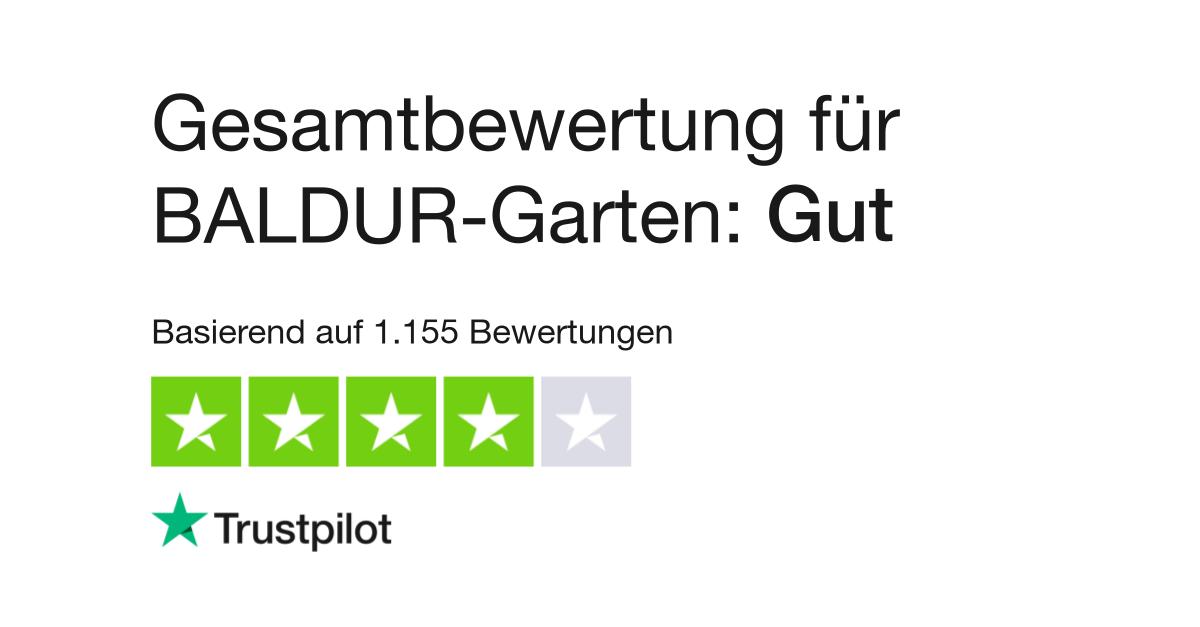 Bewertungen Von Baldur Garten Kundenbewertungen Von Baldur Garten