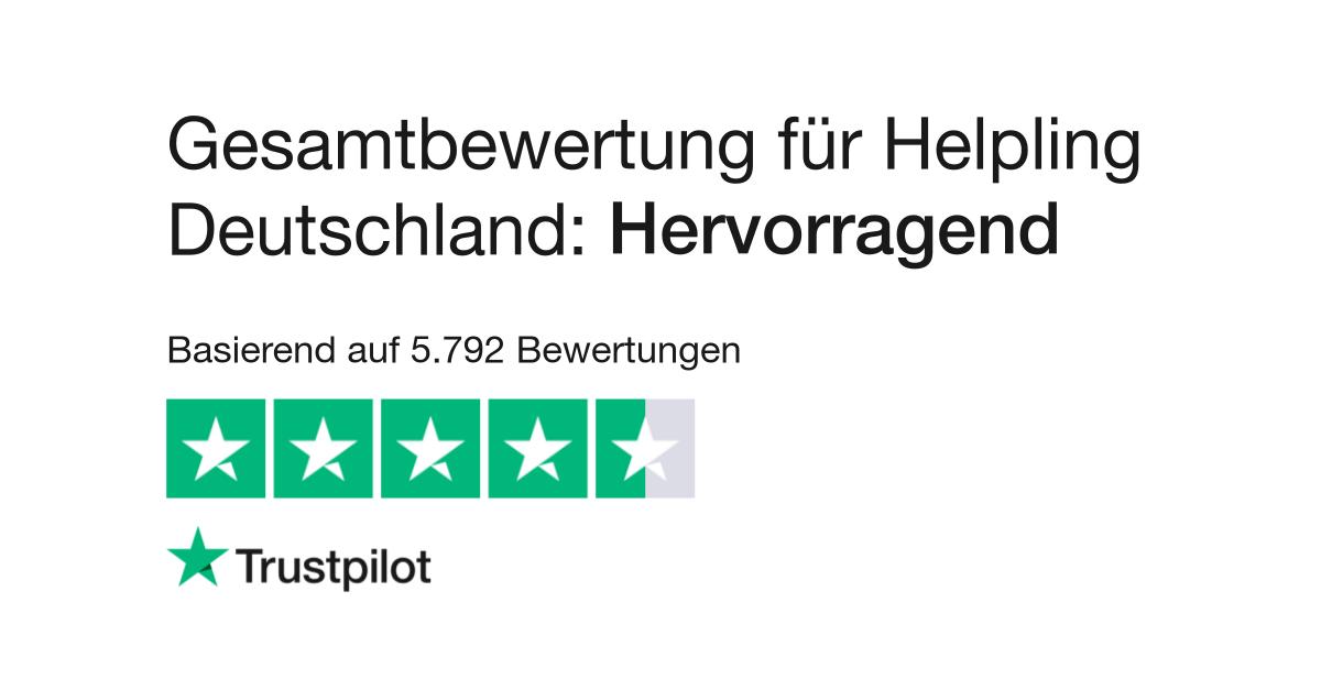Bewertungen Von Helpling Germany Kundenbewertungen Von Helpling De