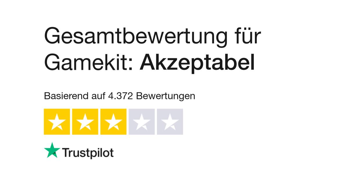 Bewertungen von Gamekit | Kundenbewertungen von gamekit com lesen