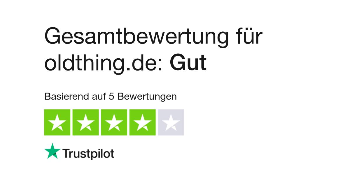 Bewertungen zu oldthing.de | Lesen Sie Kundenbewertungen
