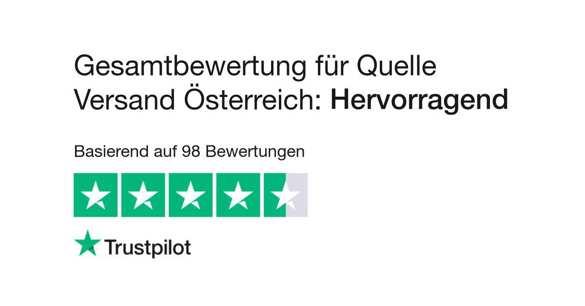 Bewertungen Von Quelle Versand österreich Kundenbewertungen Von