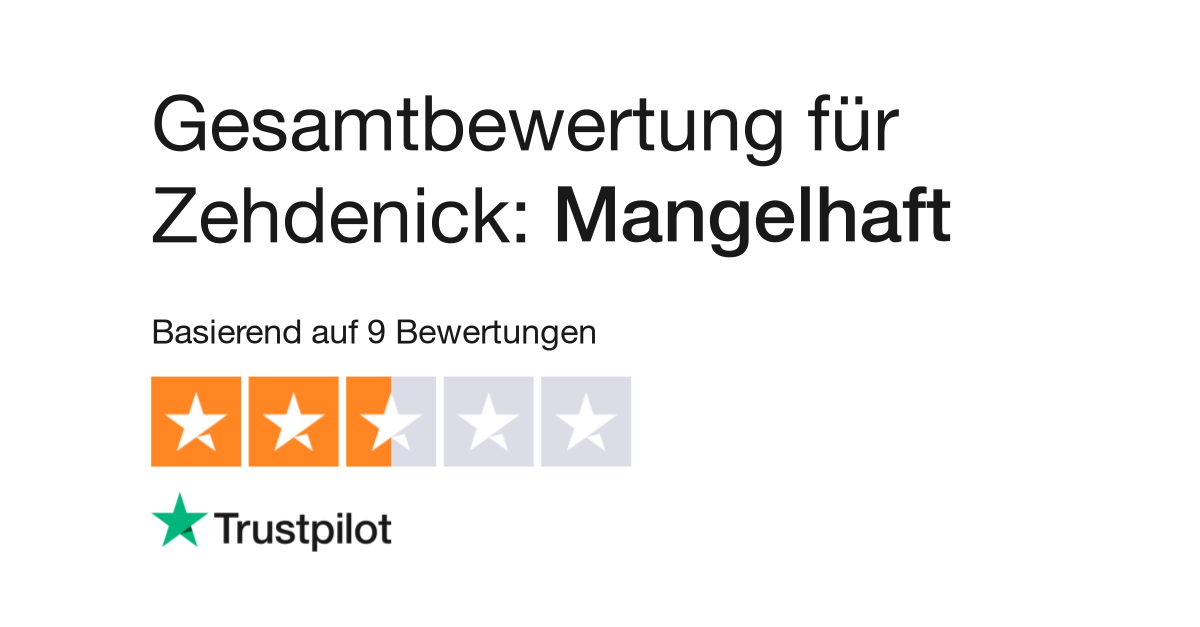 Bewertungen von Zehdenick   Kundenbewertungen von www.megapol.de lesen