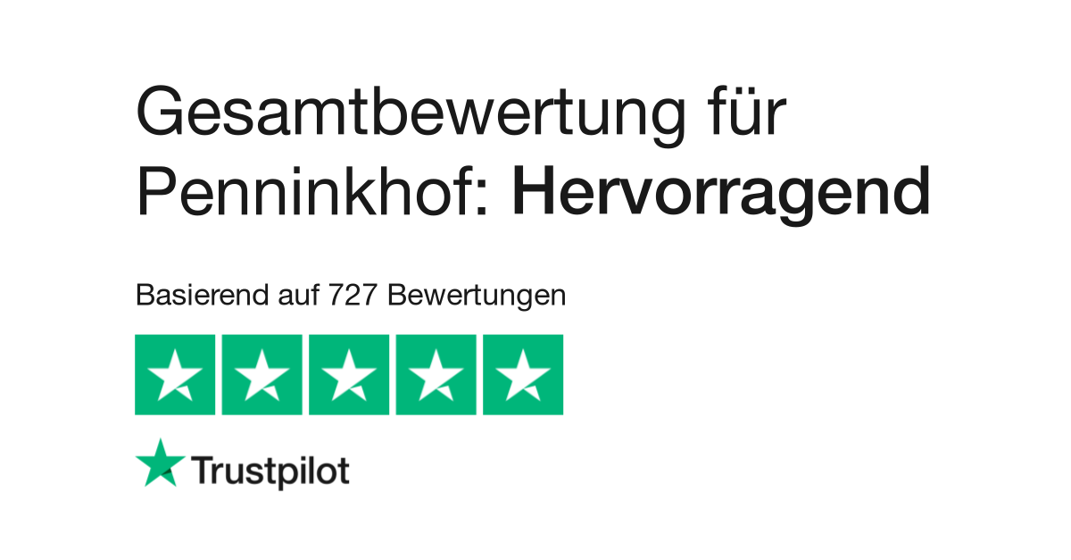 release date 53ee7 81b3b Bewertungen von Penninkhof   Kundenbewertungen von penninkhof.de lesen