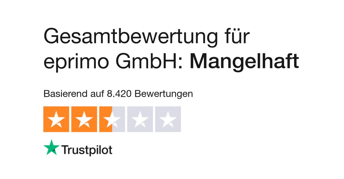 Bewertungen Von Eprimo Gmbh Kundenbewertungen Von Eprimode Lesen
