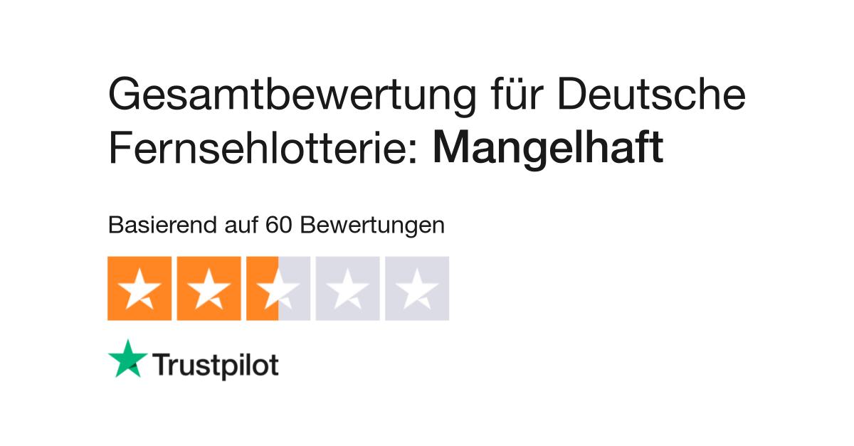Deutsche Fernsehlotterie KГјndigung