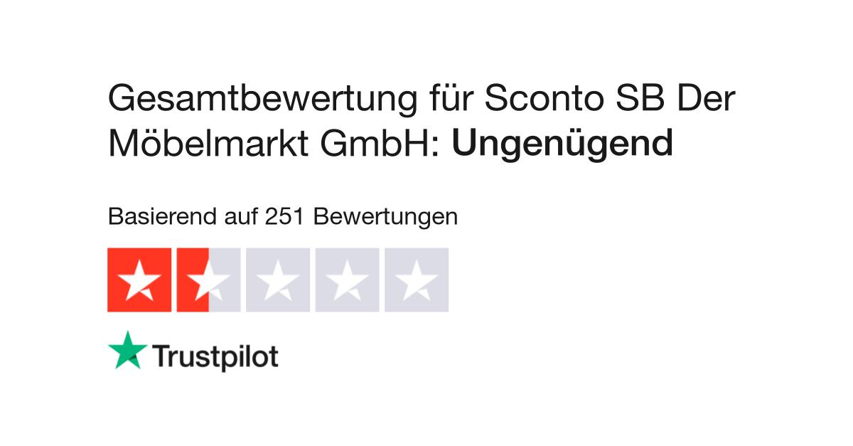 Bewertungen Von Sconto Sb Der Möbelmarkt Gmbh Kundenbewertungen