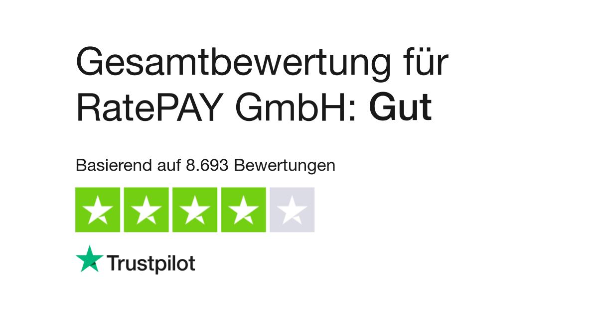 Bewertungen Von Ratepay Gmbh Kundenbewertungen Von Wwwratepaycom