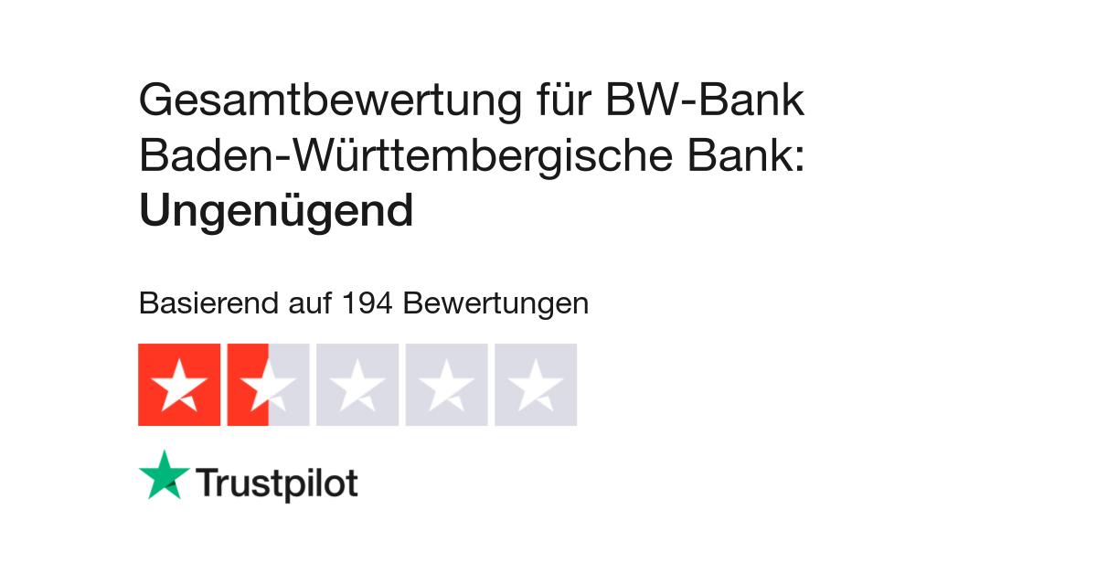 Bewertungen Von Bw Bank Baden Württembergische Bank