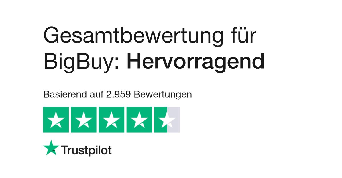 Bewertungen von BigBuy   Kundenbewertungen von bigbuy eu lesen