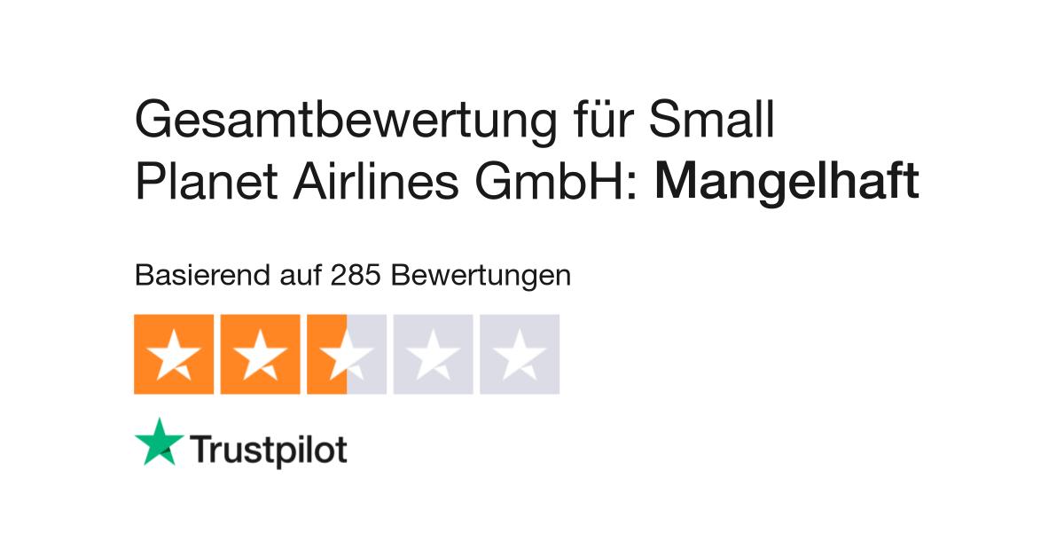 Bewertungen Von Small Planet Airlines Gmbh Kundenbewertungen Von