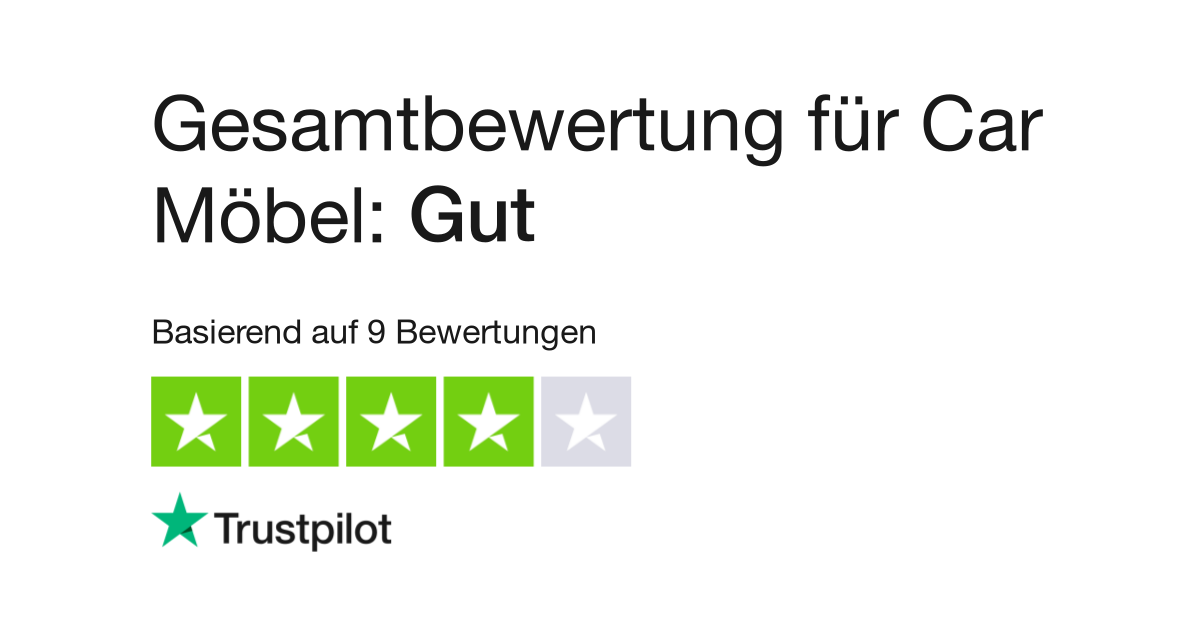 Bewertungen von Car Möbel | Kundenbewertungen von www.car-moebel.de ...