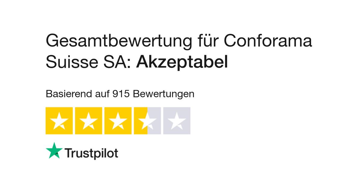 Bewertungen Von Conforama Schweizsuisse Kundenbewertungen Von