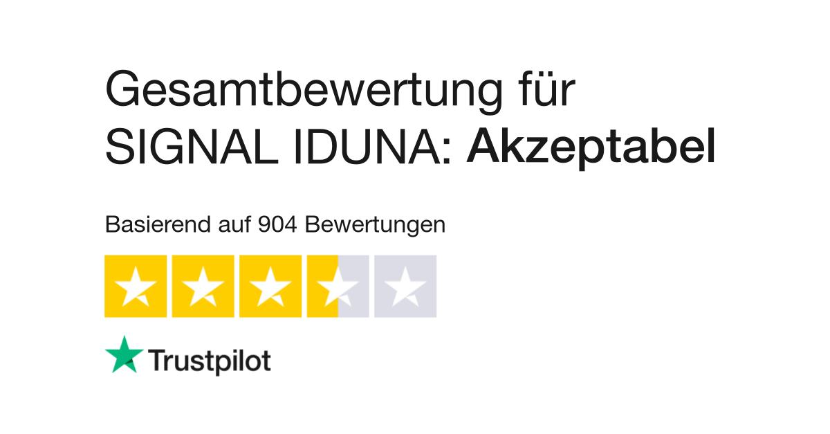 Bewertungen Von Signal Iduna Kundenbewertungen Von Www Signal
