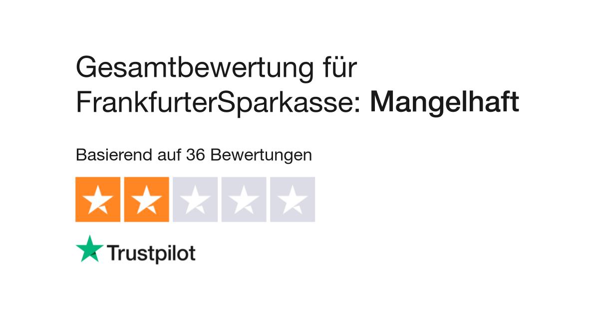 Bewertungen Zu Frankfurtersparkasse Lesen Sie Kundenbewertungen Zu Www Frankfurter Sparkasse De