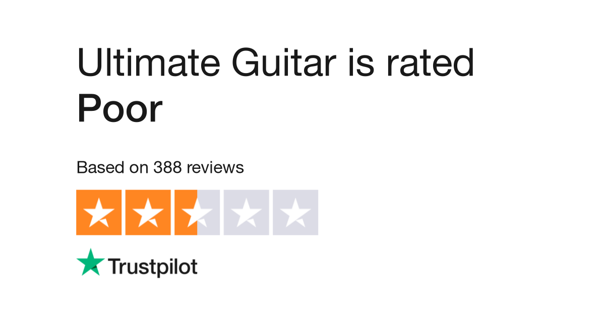 Ultimate Guitar Reviews | Read Customer Service Reviews of www ...