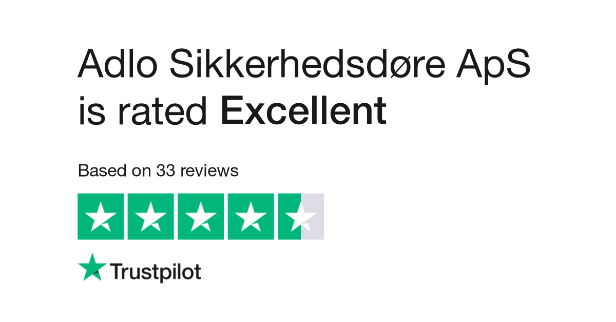 5e70c9108d Adlo Sikkerhedsdøre ApS Reviews