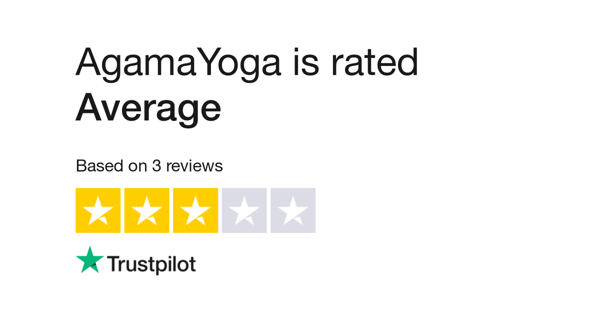Agamayoga Reviews Read Customer Service Reviews Of Agamayoga Com