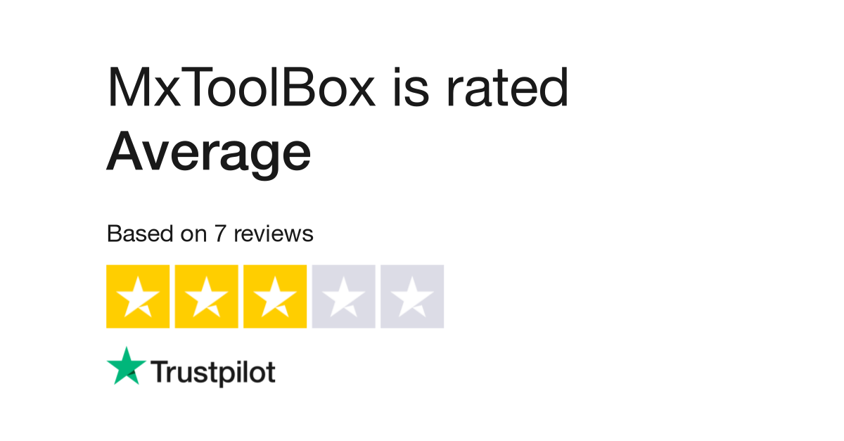 MxToolBox Reviews | Read Customer Service Reviews of mxtoolbox com