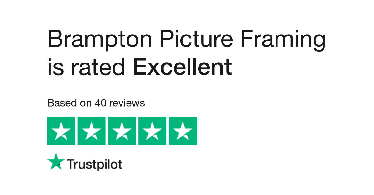 Brampton Picture Framing Reviews Read Customer Service Reviews Of