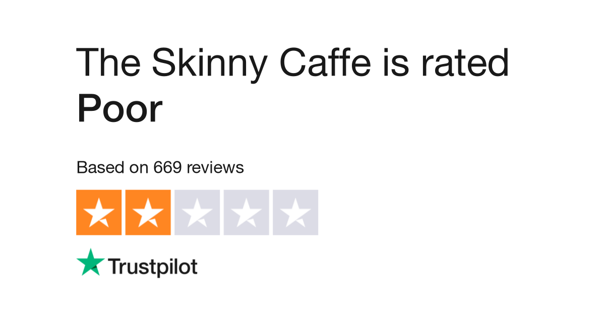 The Skinny Caffe Reviews Read Customer Service Reviews Of