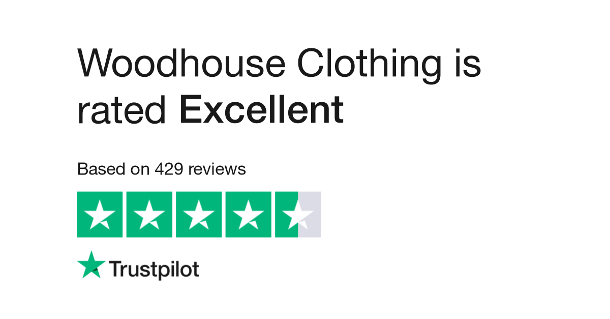 Woodhouseclothing Reviews Read Customer Service Reviews Of Www
