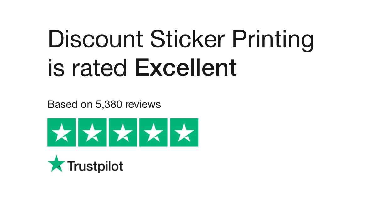 Discount Sticker Printing Reviews Read Customer Service Reviews Of