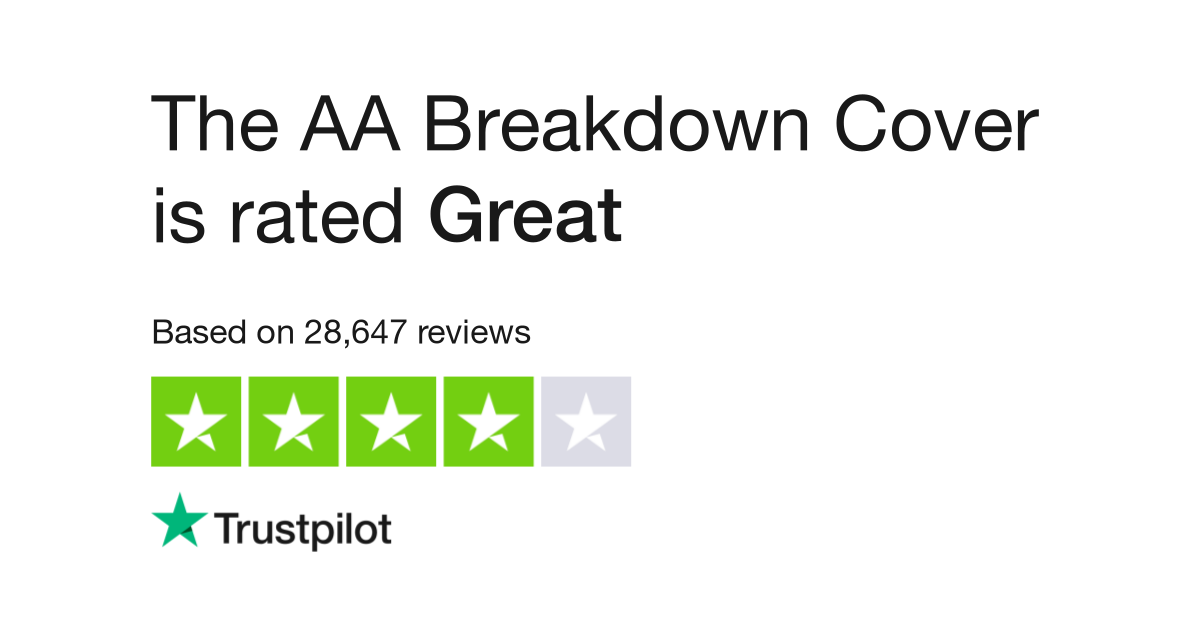 The AA Breakdown Cover Reviews | Read Customer Service