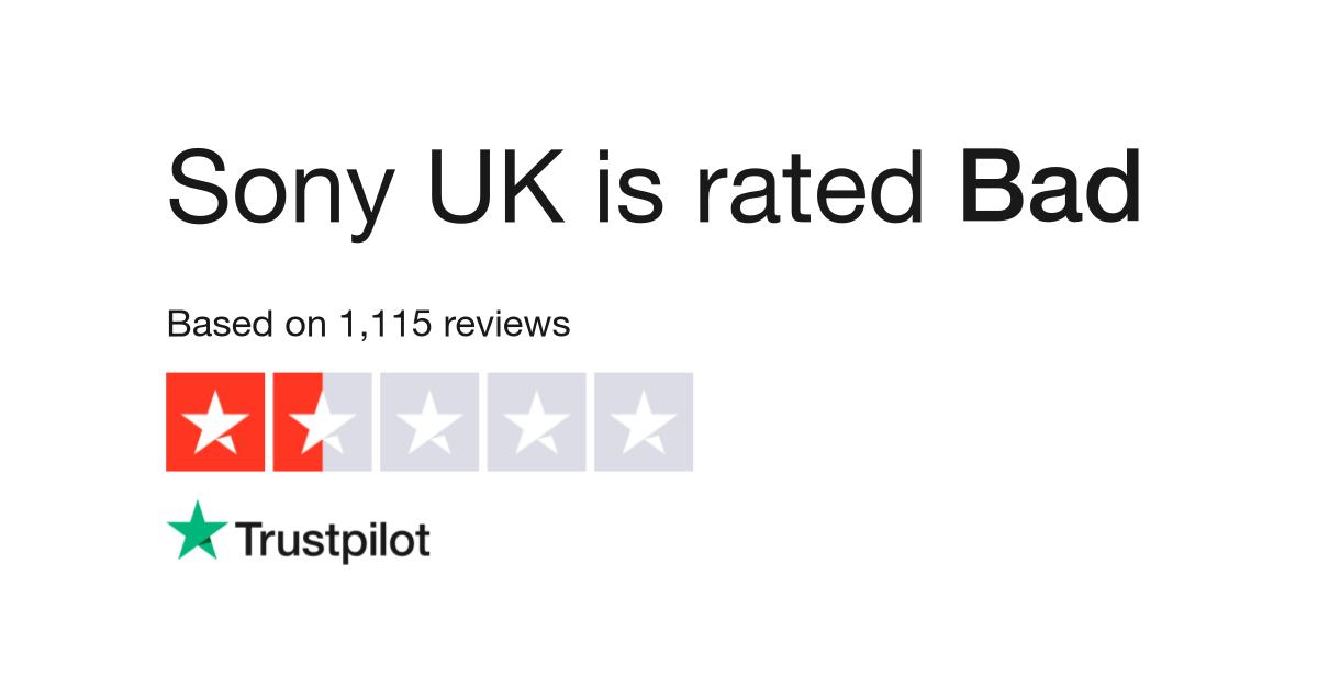 Sony UK Reviews | Read Customer Service Reviews of www sony co uk