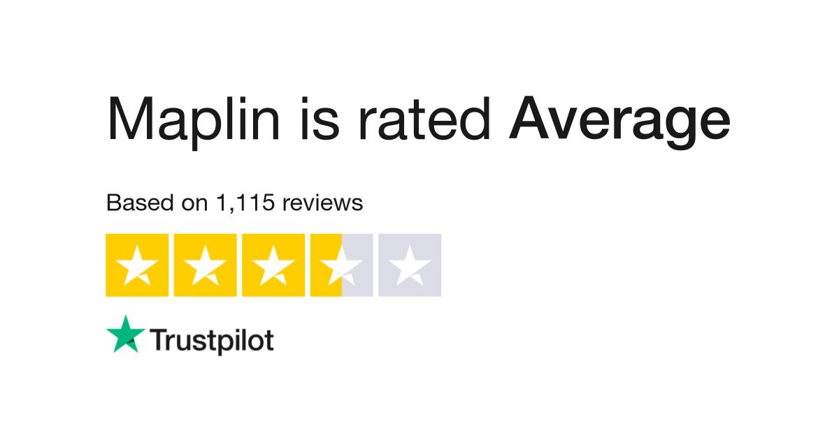 Maplin Reviews | Read Customer Service Reviews of www maplin co uk