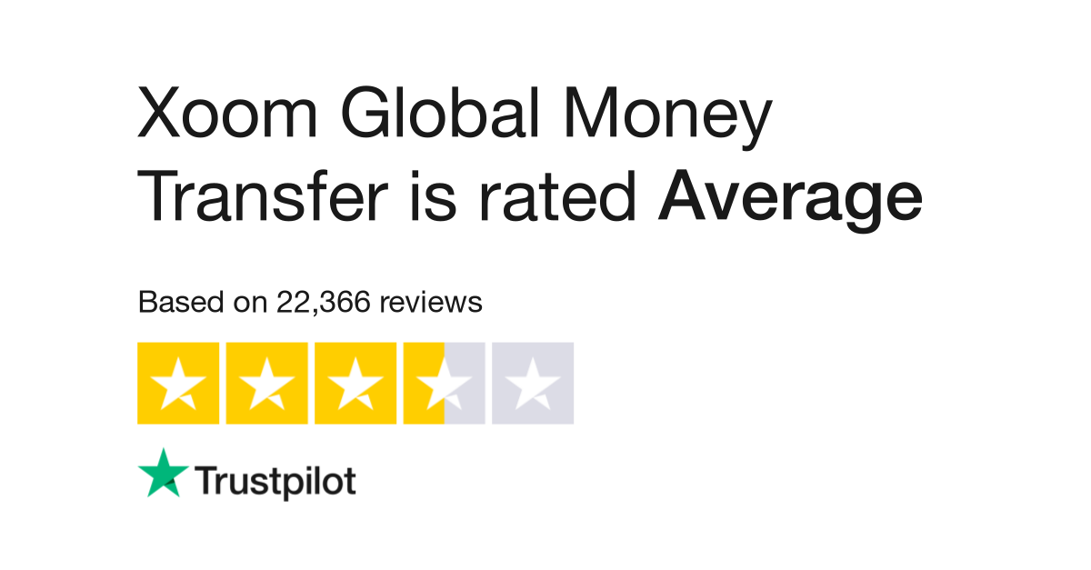 Xoom Global Money Transfer Reviews Read Customer Service