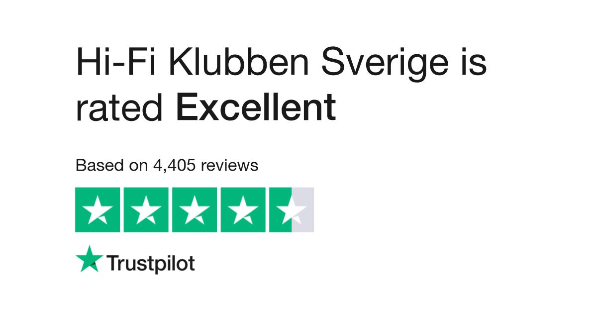 e4e555ac6 Hi-Fi Klubben Sverige Reviews   Read Customer Service Reviews of www ...