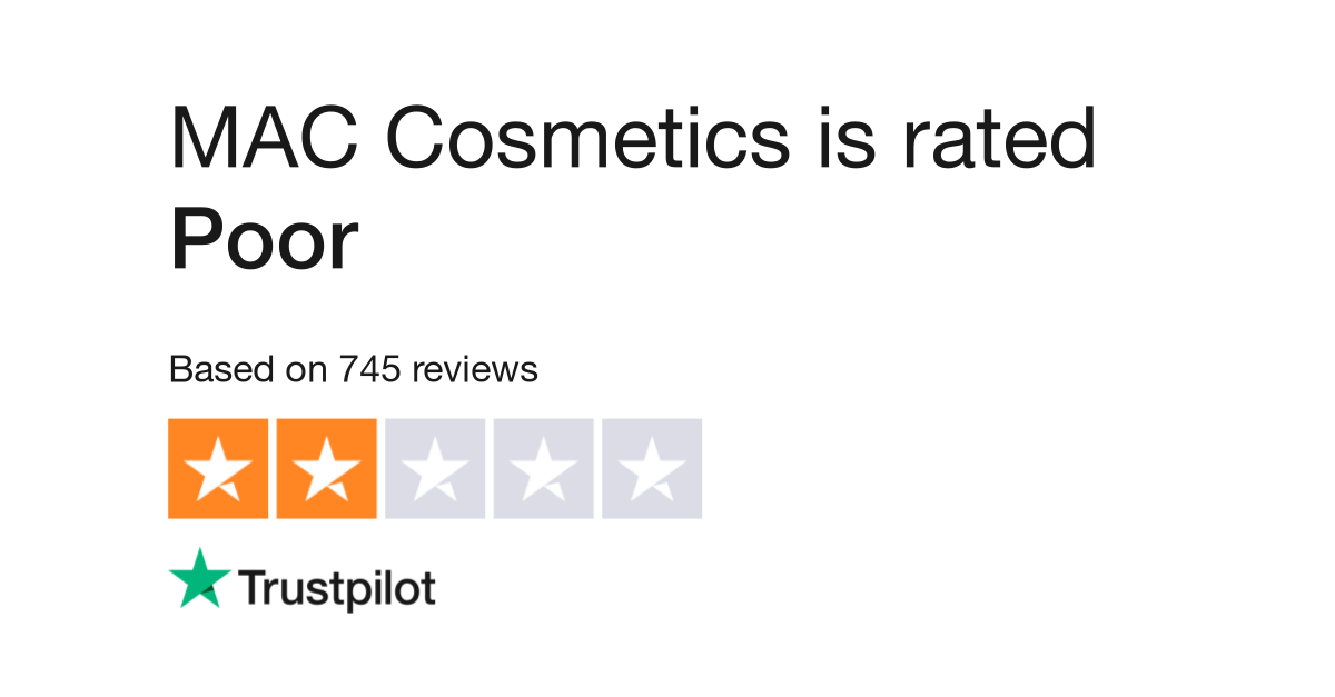 MAC Cosmetics Reviews | Read Customer Service Reviews of www