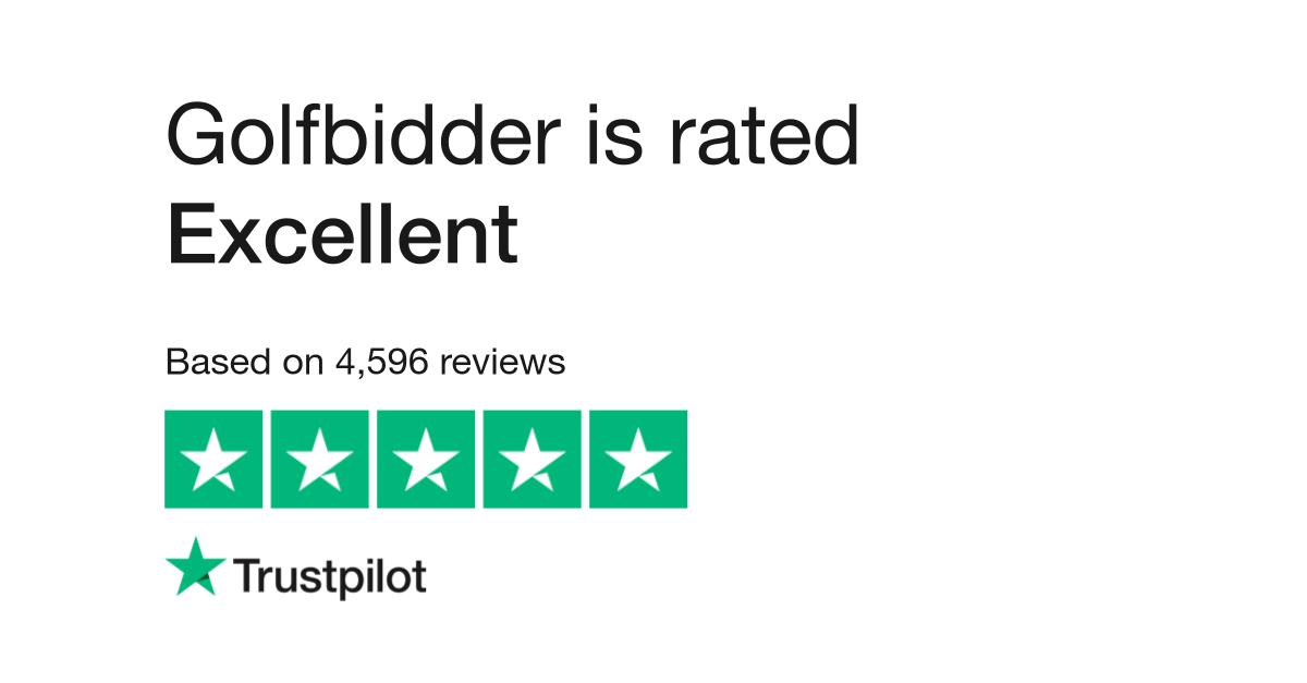 Golfbidder Reviews Read Customer Service Reviews Of Www Golfbidder Co Uk