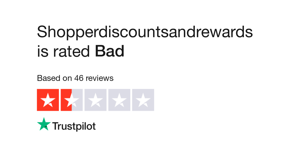 shopperdiscountsandrewards reviews read customer service reviews