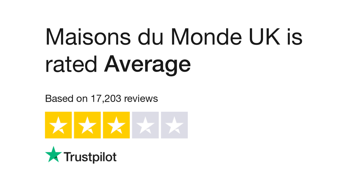 Maisons Du Monde Uk Reviews Read Customer Service Reviews Of Www