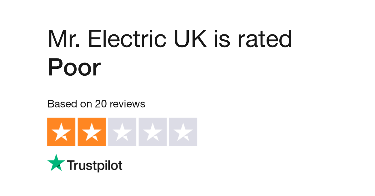 Mr Electric Uk Reviews Read Customer Service Of Www Co