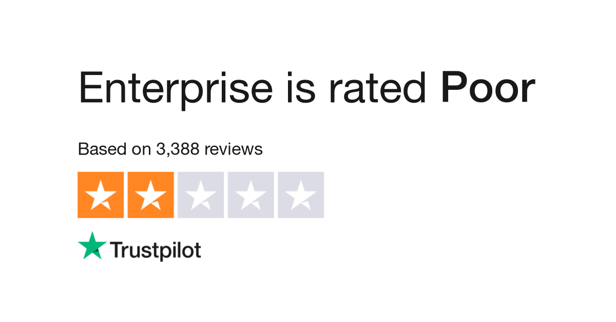 Enterprise Reviews Read Customer Service Reviews Of Www Enterprise