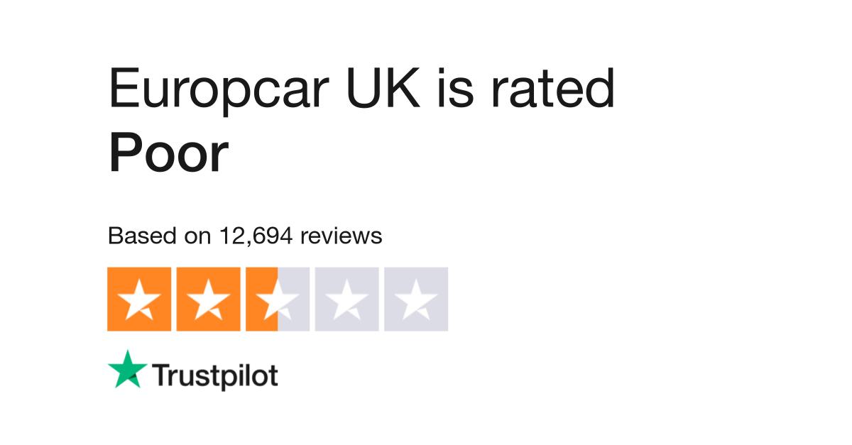 Europcar Uk Reviews Read Customer Service Reviews Of Www Europcar
