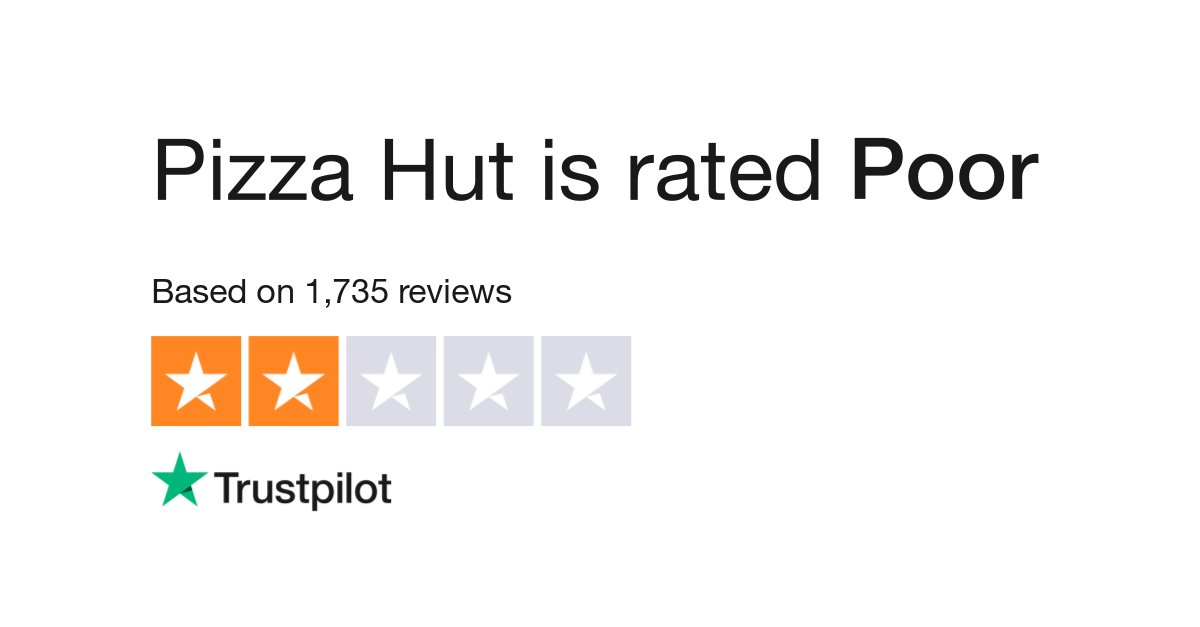 Pizza Hut Reviews Read Customer Service Reviews Of Www