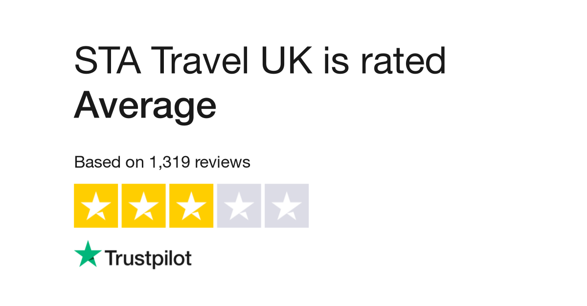 "Statravel is rated ""Bad"" with 1.5 / 10 on Trustpilot"