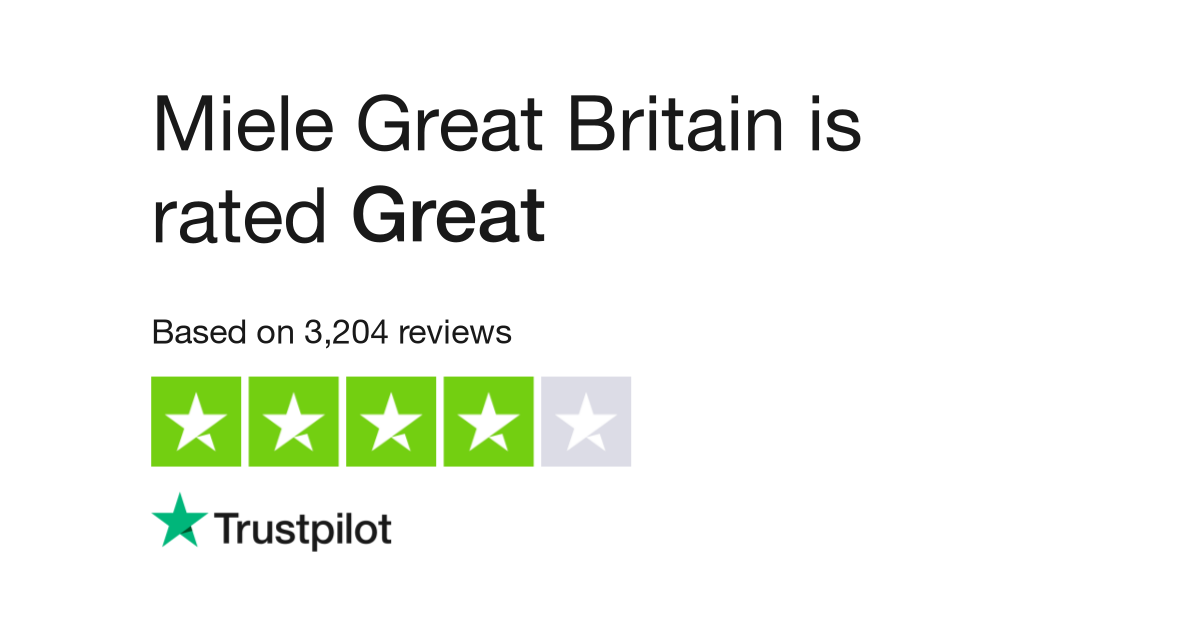 Miele Great Britain Reviews Read Customer Service Reviews