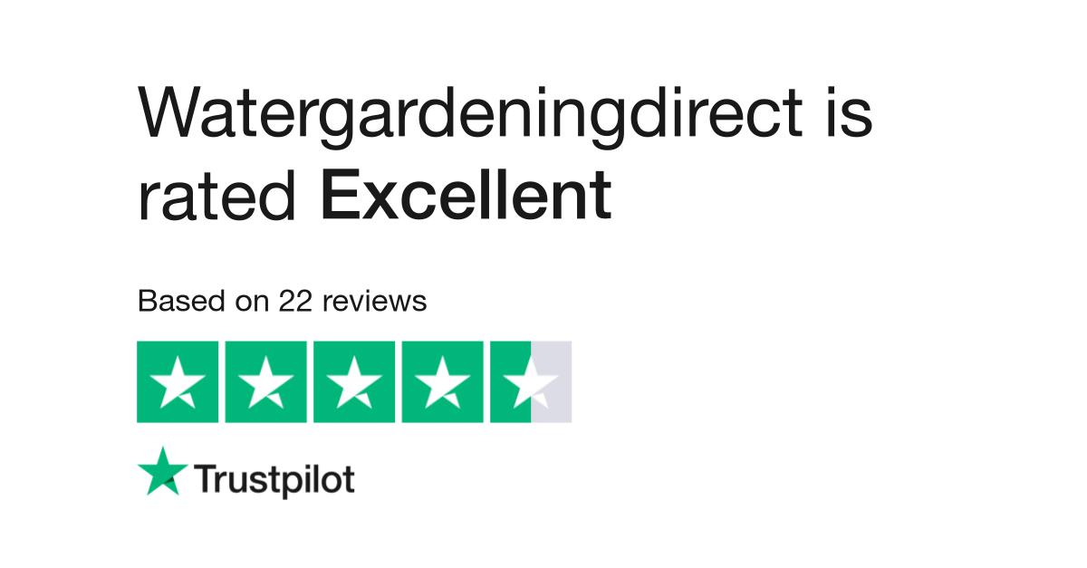 Watergardeningdirect Reviews Read Customer Service Reviews Of Www Watergardeningdirect Com