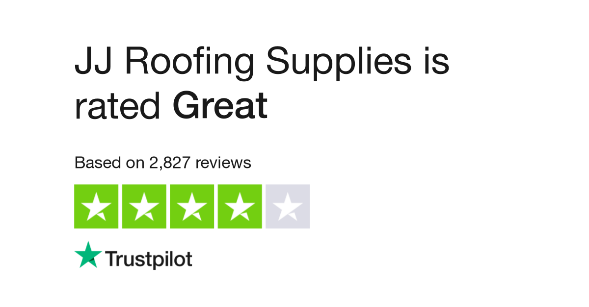 Jj Roofing Supplies Reviews Read Customer Service