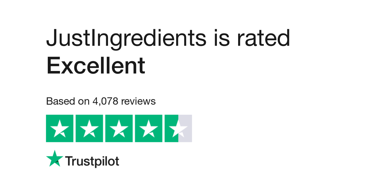 JustIngredients Reviews | Read Customer Service Reviews of
