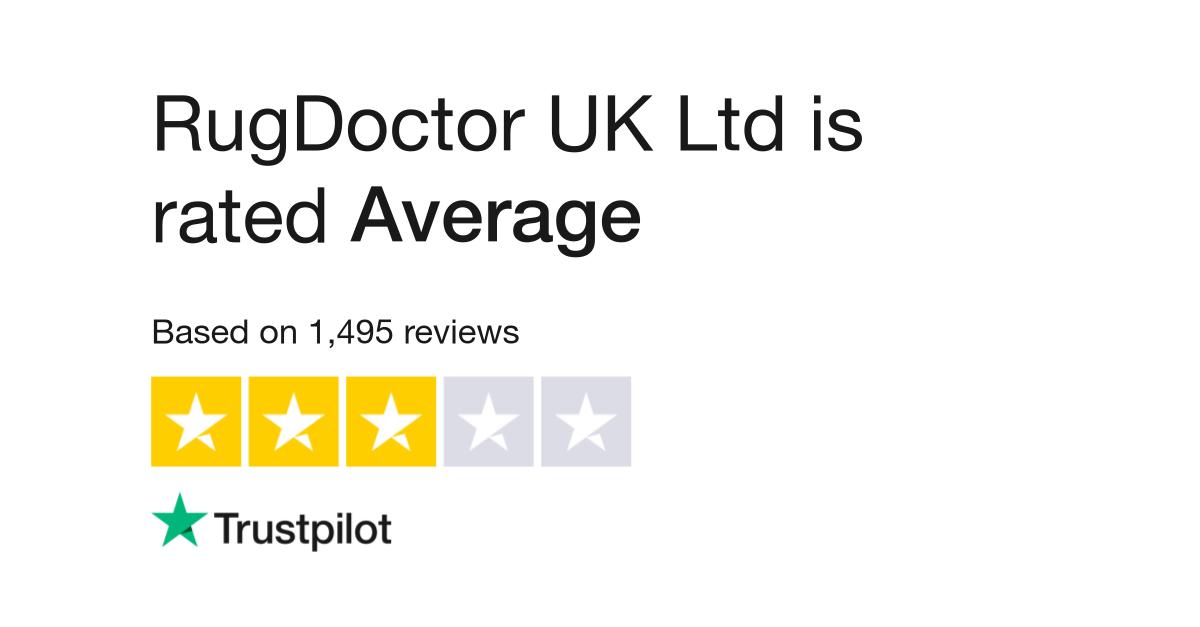 Rugdoctor Uk Ltd Reviews Read Customer Service Of Co