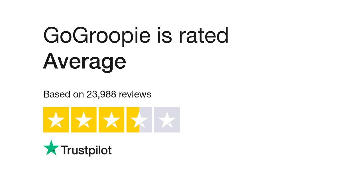 GoGroopie Reviews   Read Customer Service Reviews of